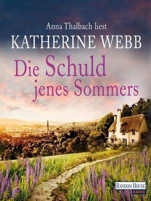 cover image of Die Schuld jenes Sommers