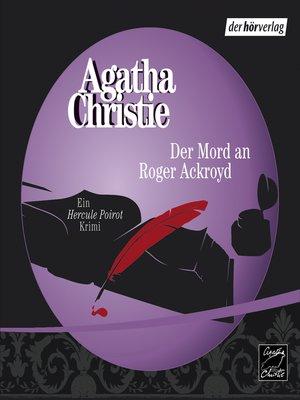 cover image of Der Mord an Roger Ackroyd