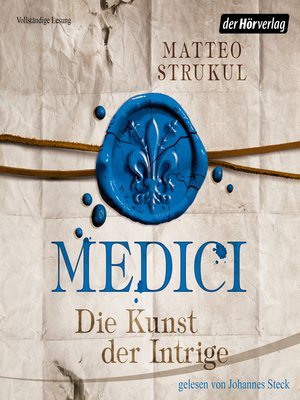 cover image of Medici. Die Kunst der Intrige