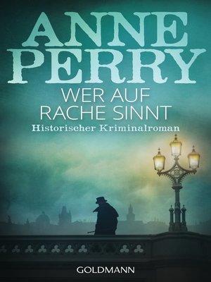 cover image of Wer auf Rache sinnt