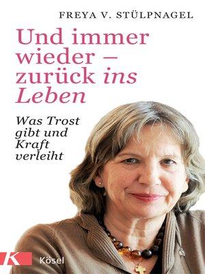 cover image of Und immer wieder--zurück ins Leben