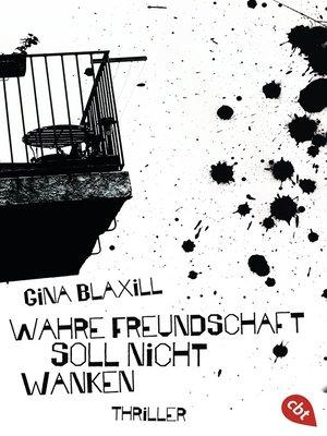 cover image of Wahre Freundschaft soll nicht wanken