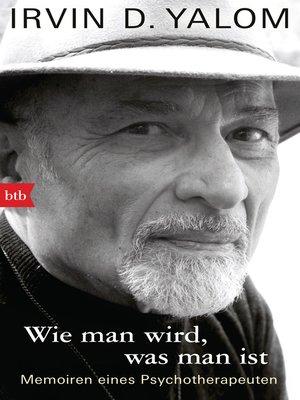 cover image of Wie man wird, was man ist