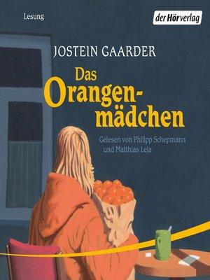 cover image of Das Orangenmädchen