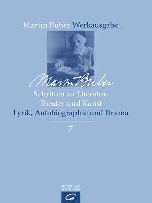 cover image of Schriften zu Literatur, Theater und Kunst