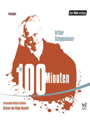 cover image of Schopenhauer in 100 Minuten