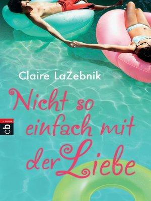cover image of Nicht so einfach mit der Liebe