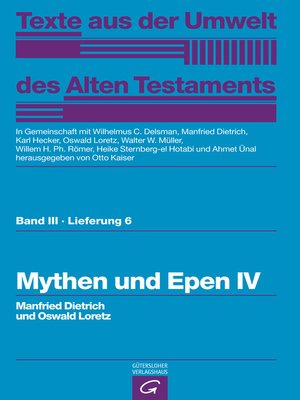 cover image of Mythen und Epen IV