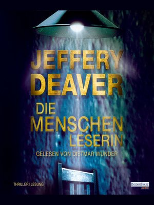 cover image of Die Menschenleserin