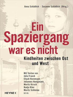 cover image of Ein Spaziergang war es nicht