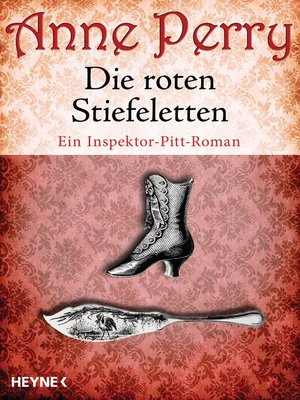 cover image of Die roten Stiefeletten