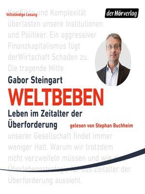 cover image of Weltbeben