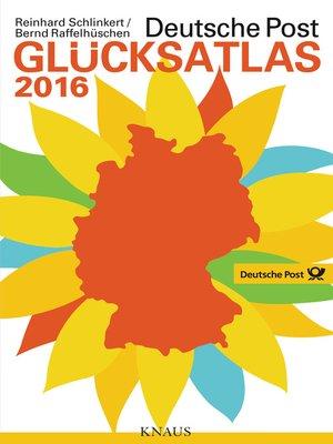 cover image of Deutsche Post Glücksatlas 2016