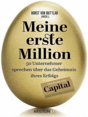 cover image of Meine erste Million