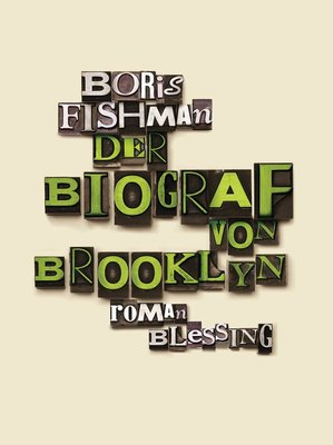 cover image of Der Biograf von Brooklyn