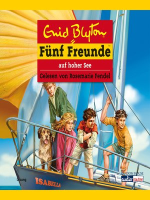 cover image of Fünf Freunde auf hoher See
