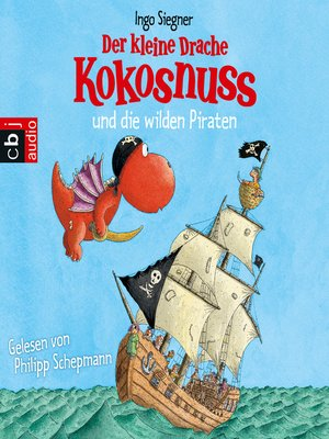 cover image of Der kleine Drache Kokosnuss und die wilden Piraten