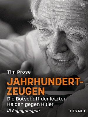 cover image of Jahrhundertzeugen