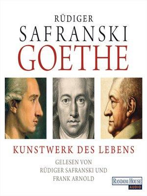 cover image of Goethe. Kunstwerk des Lebens