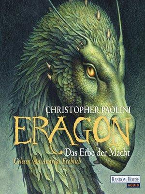 cover image of Eragon--Das Erbe der Macht