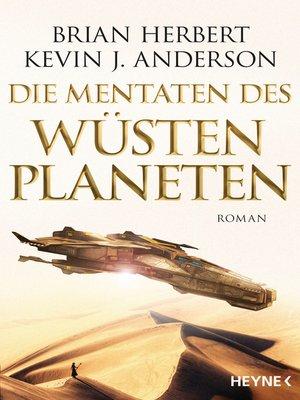 cover image of Die Mentaten des Wüstenplaneten