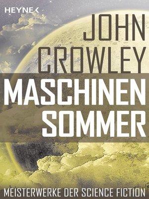 cover image of Maschinensommer