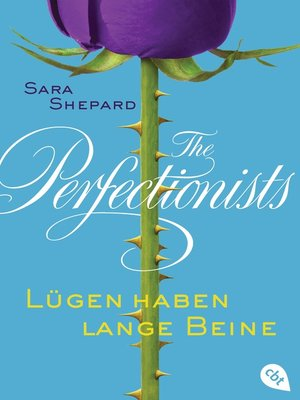 cover image of The Perfectionists--Lügen haben lange Beine