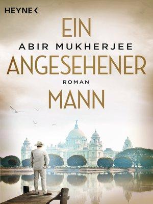 cover image of Ein angesehener Mann