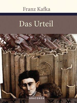 cover image of Das Urteil und andere Erzählungen
