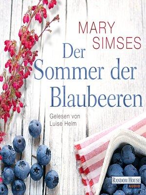 cover image of Der Sommer der Blaubeeren