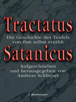 cover image of Tractatus Satanicus
