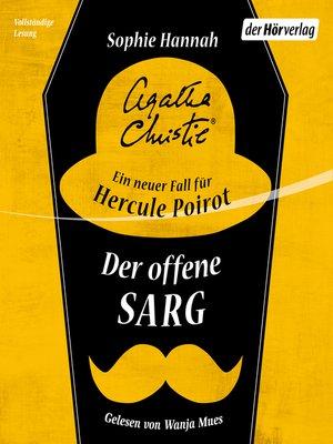 cover image of Der offene Sarg