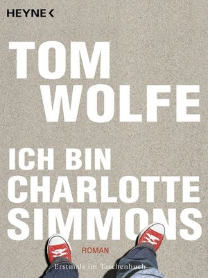 cover image of Ich bin Charlotte Simmons