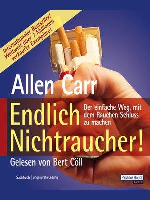 cover image of Endlich Nichtraucher
