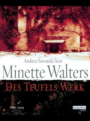 cover image of Des Teufels Werk