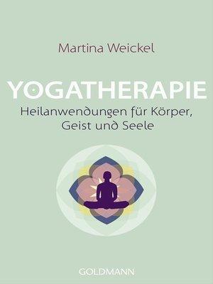 cover image of Yogatherapie