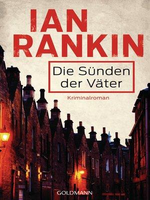 cover image of Die Sünden der Väter--Inspector Rebus 9