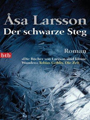 cover image of Der schwarze Steg