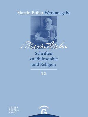 cover image of Schriften zu Philosophie und Religion