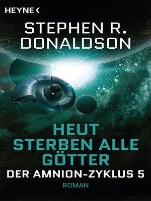 cover image of Heut sterben alle Götter