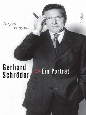 cover image of Gerhard Schröder