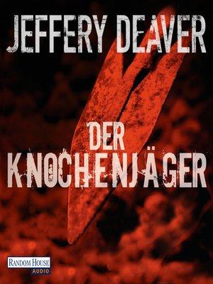 cover image of Der Knochenjäger