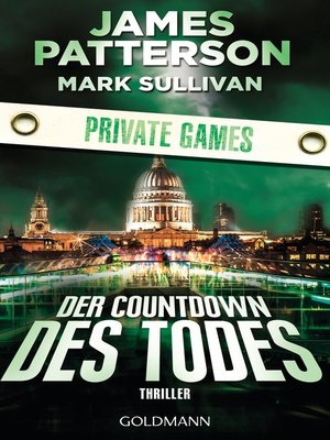 cover image of Der Countdown des Todes. Private Games