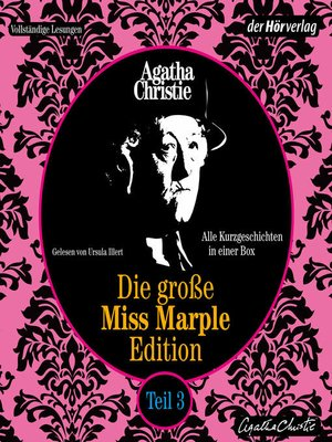 cover image of Die große Miss-Marple-Edition
