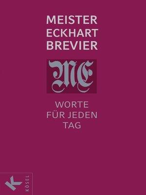cover image of Meister Eckhart Brevier