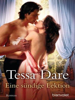 cover image of Eine sündige Lektion