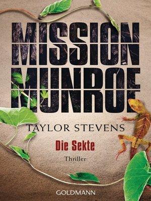 cover image of Mission Munroe. Die Sekte
