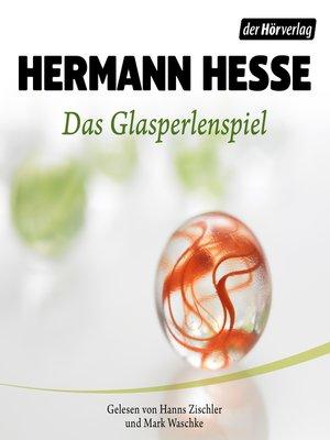 cover image of Das Glasperlenspiel