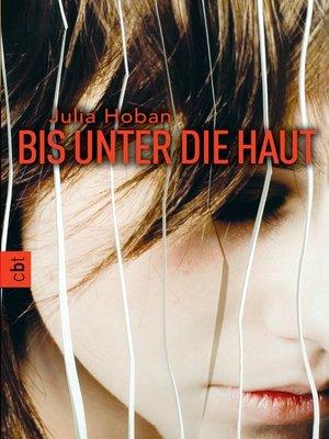 cover image of Bis unter die Haut