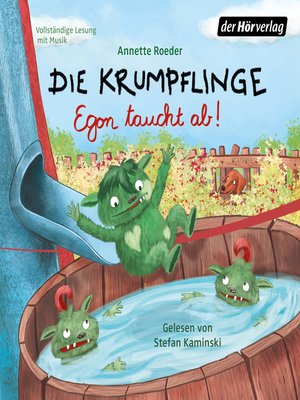 cover image of Die Krumpflinge--Egon taucht ab